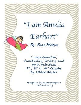 """""""I am Amelia"""" by Brad Meltzer - Vocabulary, Comprehension, and more!"""