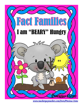"I am ""BEARY"" Hungry!  Koala Bears - Fact Families"