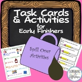 Early Finisher Task Cards and Activities for First Grade