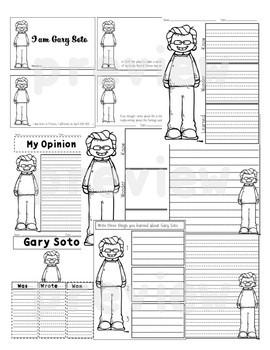 I am Gary Soto