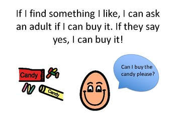 Going to a Store Social Story - Community Based Instruction Lesson