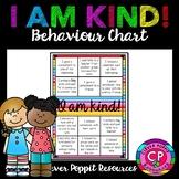 I am Kind! Behaviour Chart