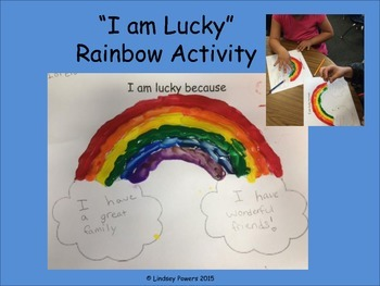I am Lucky Rainbow Activity