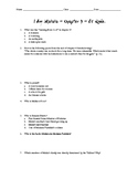 I am Malala Chapter 4 -10 Quiz