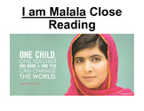 I am Malala Close Read
