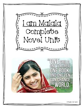 I am Malala (Young Reader's Edition) Full Novel Unit