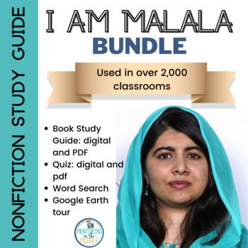I am Malala (young readers edition) - BUNDLE