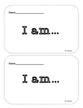 I am Printable Book