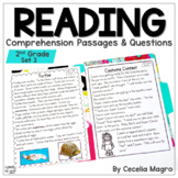 Reading Comprehension Passages and Questions Second Grade | Set 3
