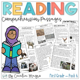 Reading Comprehension Passages and Questions 1st Grade |  Set 6