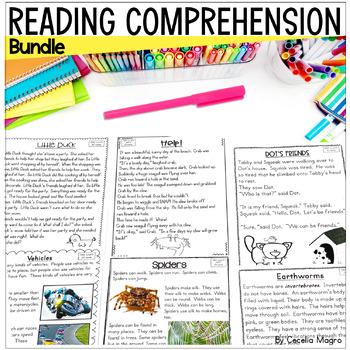 I am Reading! Fiction and Non Fiction Texts 1st Grade BUNDLE
