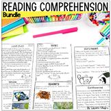 Reading Comprehension Passages & Questions 1st Grade BUNDLE