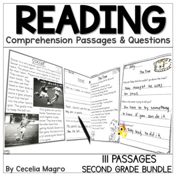 I am Reading! Fiction and Non Fiction Texts 2nd Grade BUNDLE
