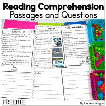 I am Reading Freebie