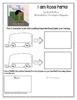 I am Rosa Parks: Skill Review