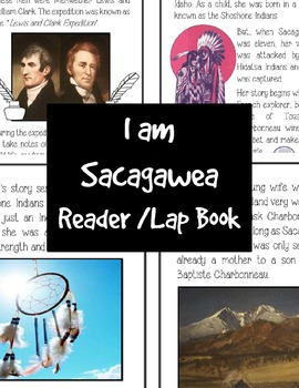 I am Sacagawea Reader and Lap Book