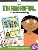 I am Thankful – A Gratitude Activity
