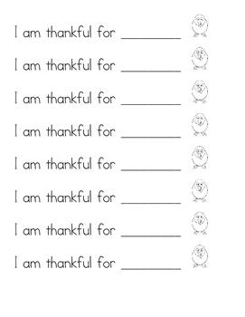 I am Thankful Bracelets English and Spanish