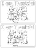 I am Thankful Emergent Reader