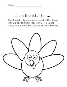 I am Thankful For....