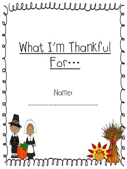 I am Thankful For...