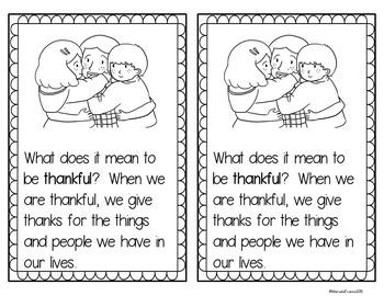 I am Thankful! ~ Thankful Tree Writing Craftivity plus Little Reader