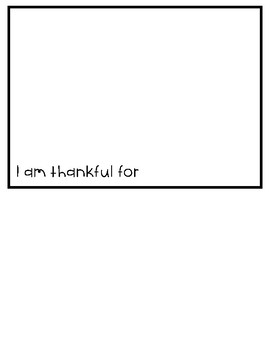 I am Thankful Waterfall Book