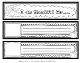 Thanksgiving Activity: I am Thankful for Book