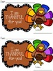 I am Thankful for You! Teacher Cards for Kids!