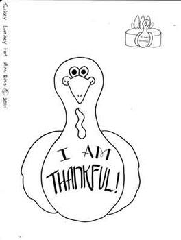 I am Thankul Turkey Hat
