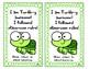 I am Turtle-y awesome! I followed classroom rules. Turtle Take home Card