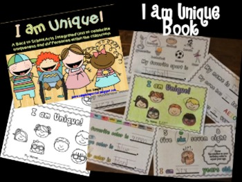 All About Me Book {I am Unique!}