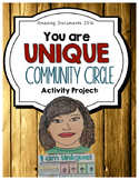 I am Unique: Building Classroom Community