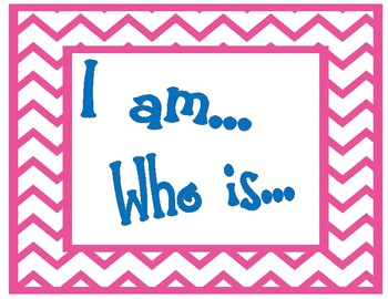 I am... Who is...