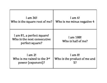 I am, Who is?