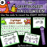I am a CRYPTOLOGIST! {Reveal the Sight Words} HALLOWEEN