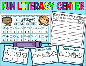 I am a CRYPTOLOGIST! {Reveal the Sight Words} WINTER