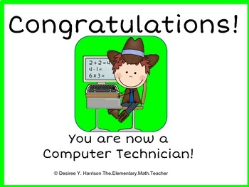 I am a Computer Technician!
