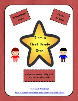 I am a First Grade Star Memory Book