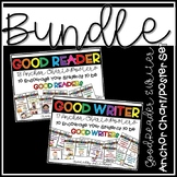 """I'm a GOOD READER & WRITER because..."" Poster Sets {BUNDLED}"