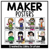 I am a Maker - Makerspace Posters