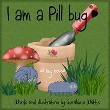 I am a Pill Bug storybook