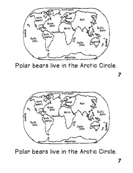 Emergent Non Fiction Reader I am a Polar Bear!  Illustrate me, please!
