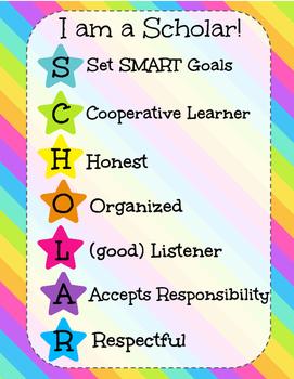 I am a Scholar Poster