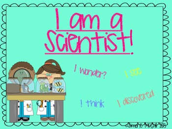 I am a Scientist Inquiry Sheet