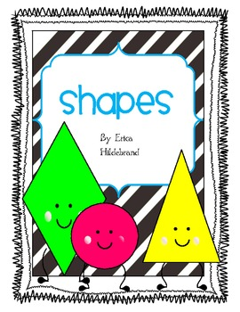 I am a Shape {Shapes Mega Pack}