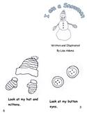 I am a Snowman Emergent Reader