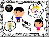 French Superhero Present Tense Project
