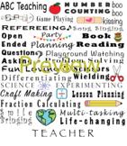 """""""I am a Teacher"""" Graphic!"""