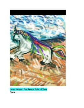I am a Unicorn First Person Point of View